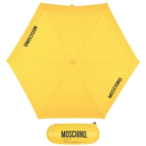 Зонт складной Moschino 8014-superminiU Couture! Yellow фото-1