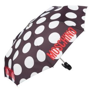 Зонт складной Moschino 8023-OCA Giant pois Black фото-2