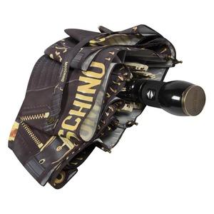 Зонт складной Moschino 8038-OCA Biker Piercing Black фото-3
