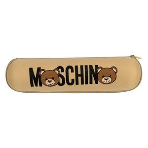 Зонт складной Moschino 8041-OCD Bear Logo Dark Beige фото-6