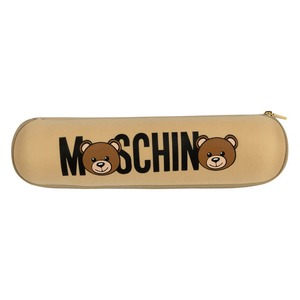 Зонт складной Moschino 8041-OCD Bear Logo Dark Beige фото-6