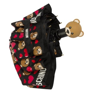 Зонт складной Moschino 8048-OCA Bear Hearts Allove фото-4