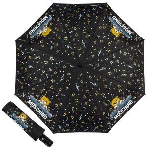 Зонт складной Moschino 8069-OCA DJ bear Black фото-1