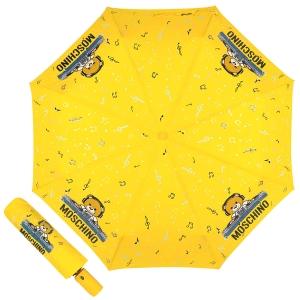 Зонт складной Moschino 8069-OCU DJ bear Yellow фото-1