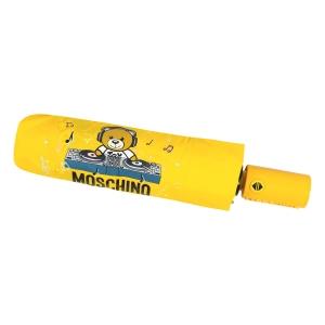 Зонт складной Moschino 8069-OCU DJ bear Yellow фото-5