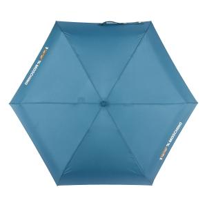 Зонт складной Moschino 8071-SuperminiR 100% Moschino Petrol Blue фото-3