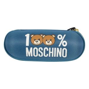 Зонт складной Moschino 8071-SuperminiR 100% Moschino Petrol Blue фото-6