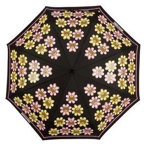 Зонт складной Moschino 8126-OCA Flower Bear Black фото-3