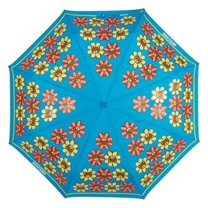 Зонт складной Moschino 8126-OCP Flower Bear Light Blue фото-3