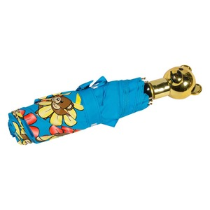 Зонт складной Moschino 8126-OCP Flower Bear Light Blue фото-4