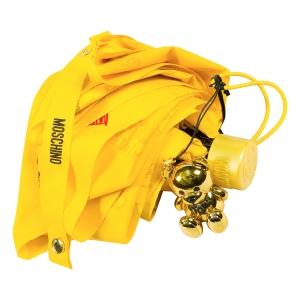 Зонт складной Moschino 8127-superminiU Hearts and bears Yellow фото-4