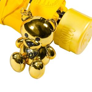 Зонт складной Moschino 8127-superminiU Hearts and bears Yellow фото-5