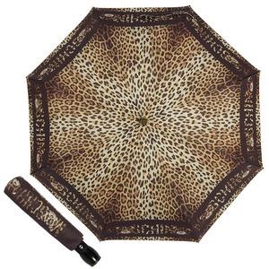 Зонт складной Moschino 8138-OCA Leo Bear Black фото-1