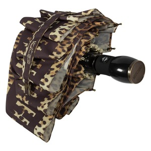 Зонт складной Moschino 8138-OCA Leo Bear Black фото-4