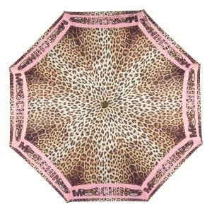 Зонт складной Moschino 8138-OCN Leo Bear Pink фото-3