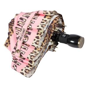 Зонт складной Moschino 8138-OCN Leo Bear Pink фото-4
