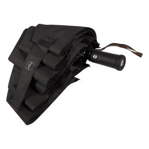 Зонт cкладной M&P C2781-OC Light Black (встроенный фонарик) фото-4