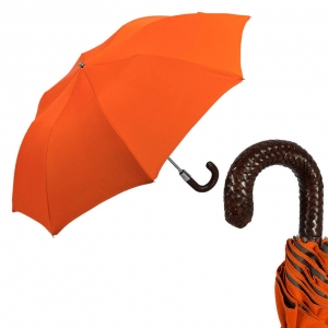 Зонт складной Pasotti Auto Braid Coral фото-1