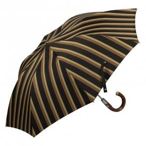 Зонт складной Pasotti Auto Chestnut Alfred Marrone фото-2