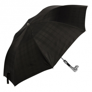 Зонт складной Pasotti Auto Fido Cell Black фото-2