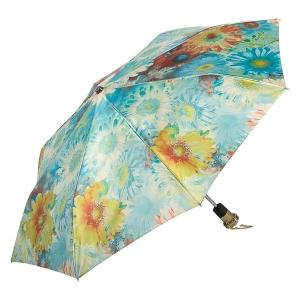 Зонт складной Pasotti Auto Gerbera Sky Lux фото-2