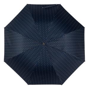 Зонт складной Pasotti Auto Mocasin Dots Blu фото-3