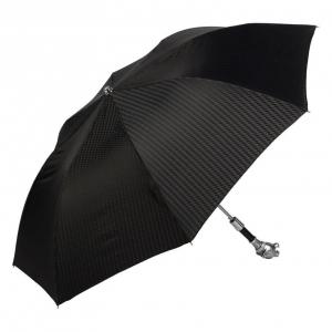 Зонт складной Pasotti Auto Silver Pantera Rombes фото-2