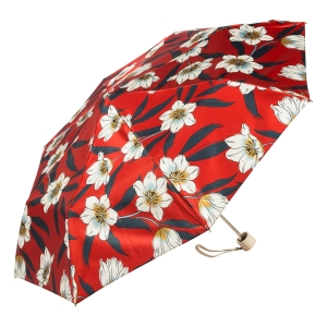 Зонт складной Pasotti  Lis Rosso Pelle фото-2