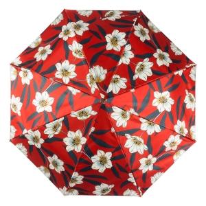Зонт складной Pasotti  Lis Rosso Pelle фото-3