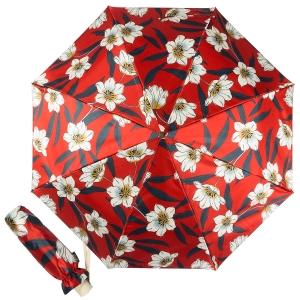 Зонт складной Pasotti  Lis Rosso Pelle фото-1