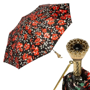 Зонт складной Pasotti Ma Papavero фото-1