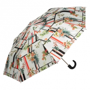 Зонт складной Pasotti Manual Orchidea Classic Pelle фото-2