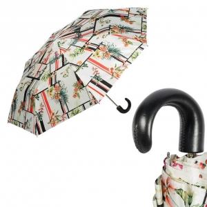 Зонт складной Pasotti Manual Orchidea Classic Pelle фото-1