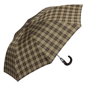 Зонт сладной Pasotti Auto Classic Pelle Dimond Marrone фото-2