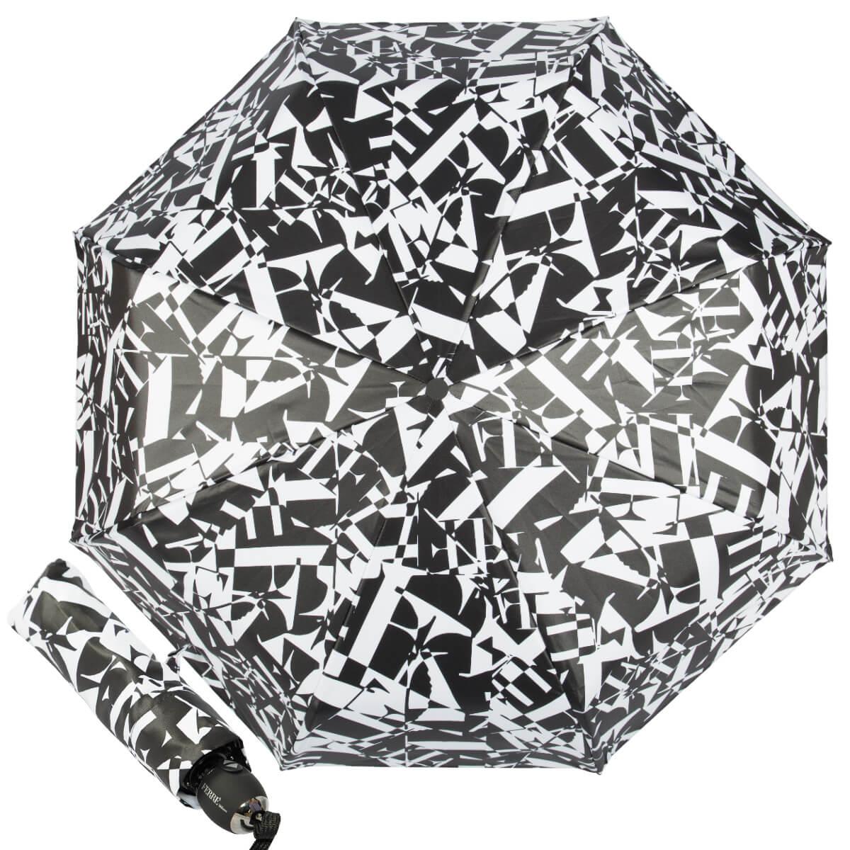 Брендовый женский зонт Ferre, складной автоматический, легкий, стильный купить в интернет магазине в Москве