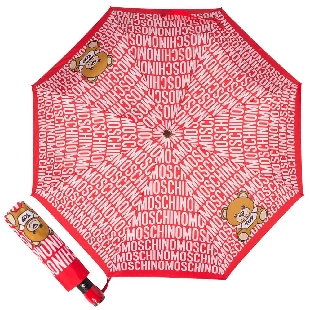 красный женский зонт, стильный купить