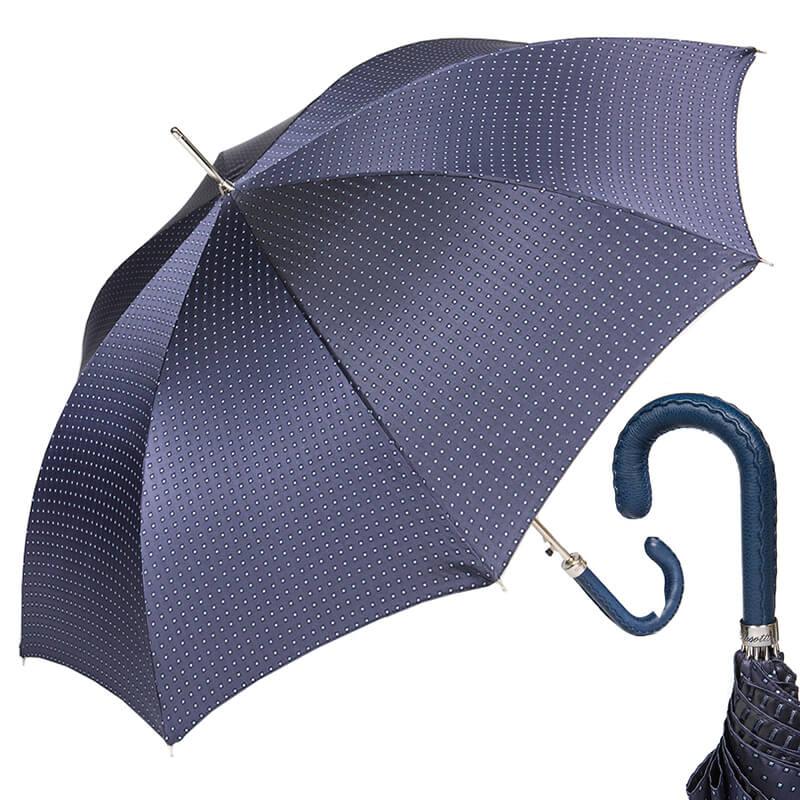 Зонт-трость Pasotti Mocasin Dandy Blu