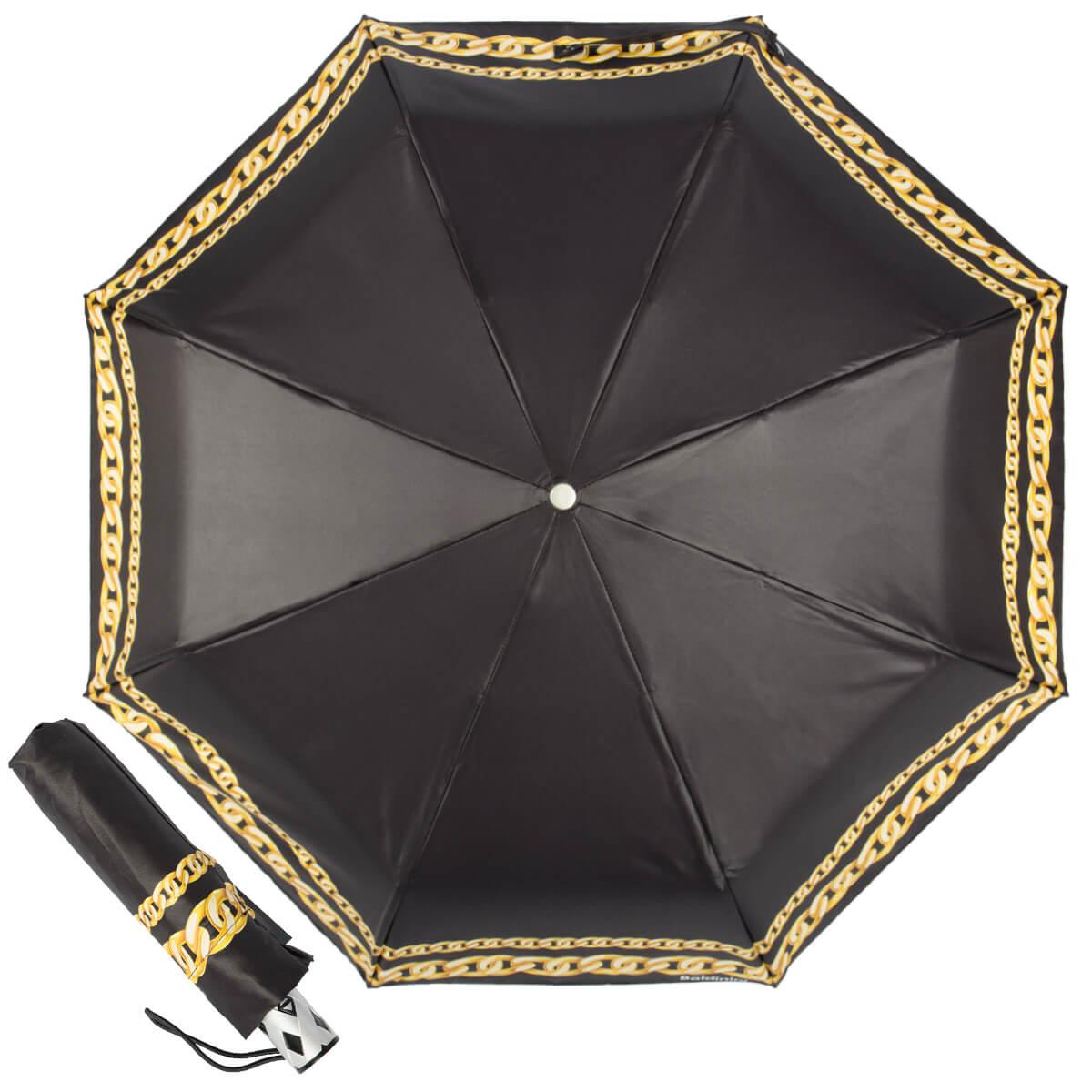 Фирменные зонты Baldinini в Москве, складной женский зонт, классический, автоматический, прочный, легкий зонт