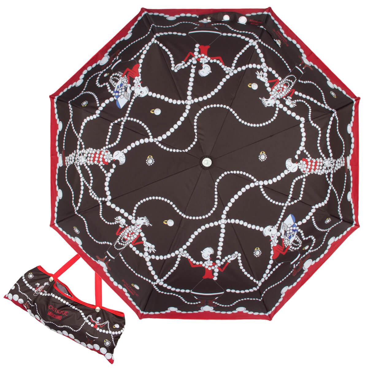 надежный зонт москино, купить в москве